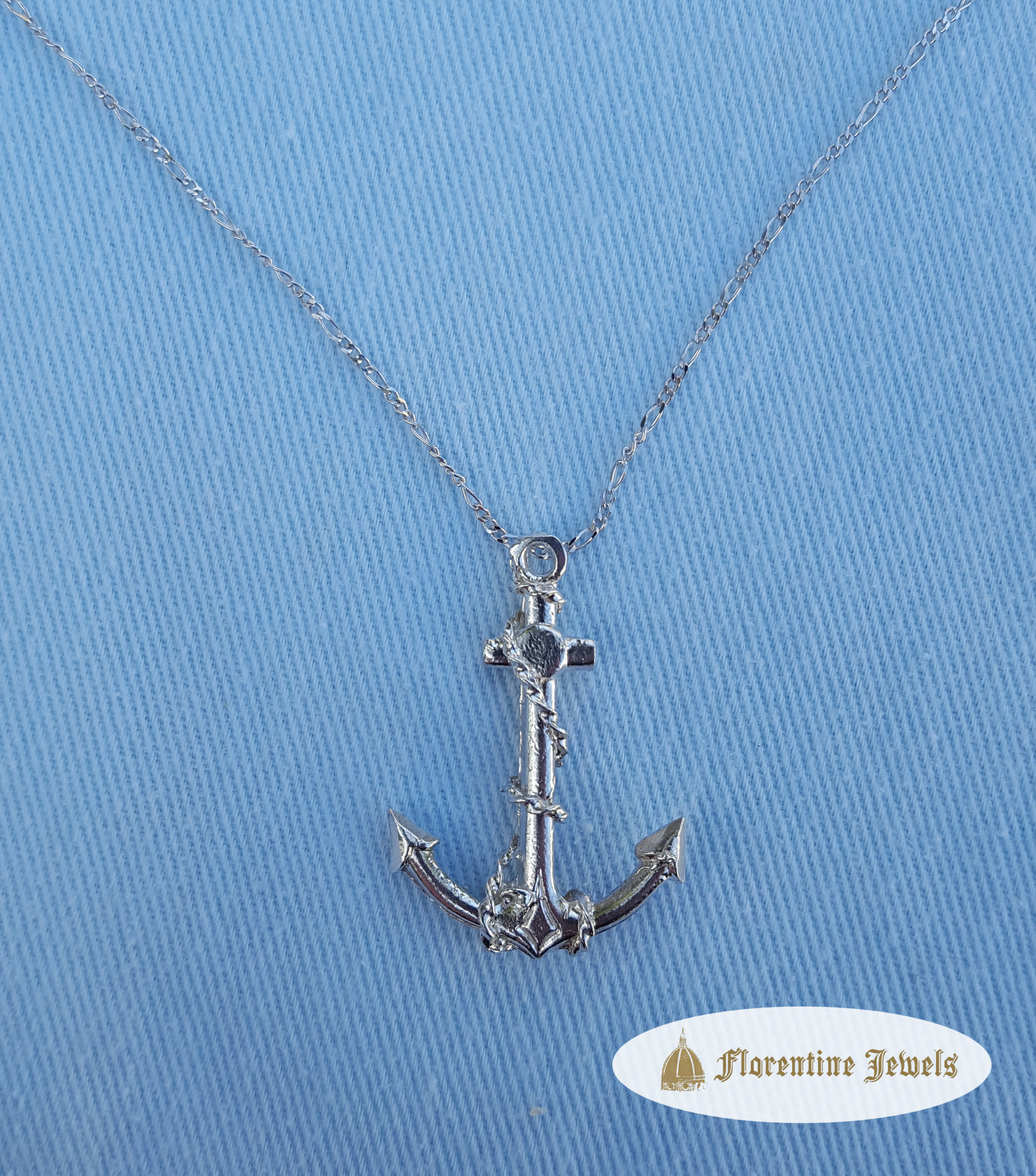 pendant com topaz chain with sterling walmart blue necklace anchor and box silver ip